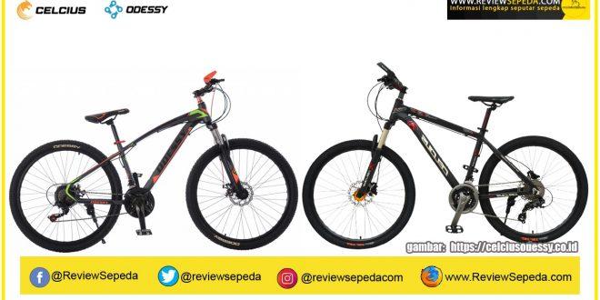 Profil Sepeda ODESSY dan CELCIUS, Satu Perusahaan Beda Merk